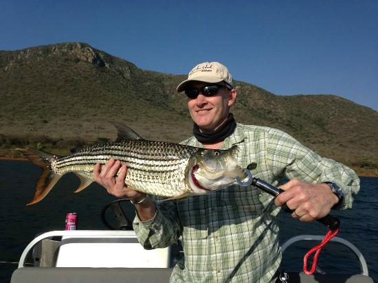 Jozini Tiger Lodge and Spa: Tiger Fishing our speciality
