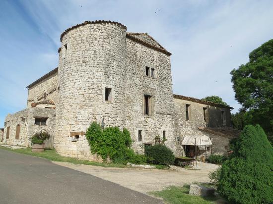Domaine de Blancardy - Auberge : Entrée du restaurant