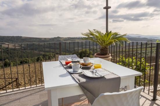 Colle San Giovanni : Il terrazzo