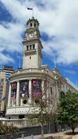 Auckland Town Hall: Administração da cidade