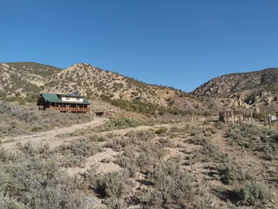 Wild Horse Safaris: view of the ranch