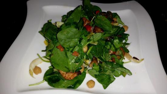 Juniper: spinach salad
