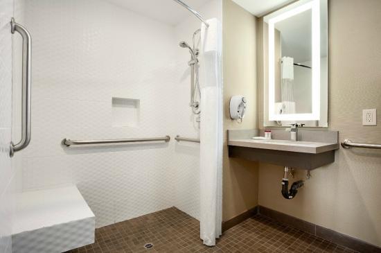 Ramada Marina Del Rey: Ramada Inn Marina Del Rey ADA Bathroom