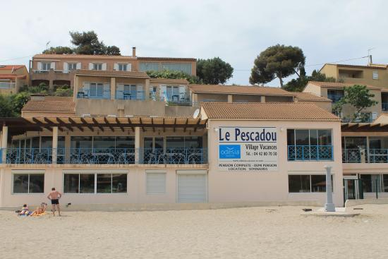 Le Pescadou Vu De La Plage Foto Di Od 233 Sia Vacances