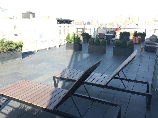 Hotel on Rivington: XXXL Terrace