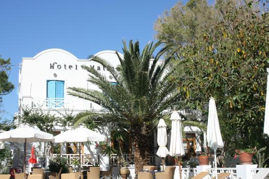 Hotel Matina à Kamari sur Santorin
