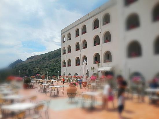 La terrazza del Ristorante al 2\' piano (zona Olimpo) - Foto di Hotel ...