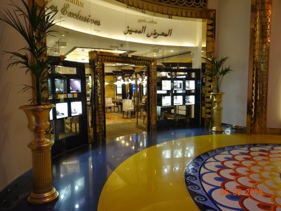 Hallway and shops picture of burj al arab jumeirah for The burg hotel dubai