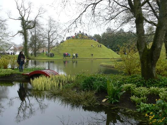 Dumfries, UK: Portack House garden (Garden of Cosmic Speculation 2015)
