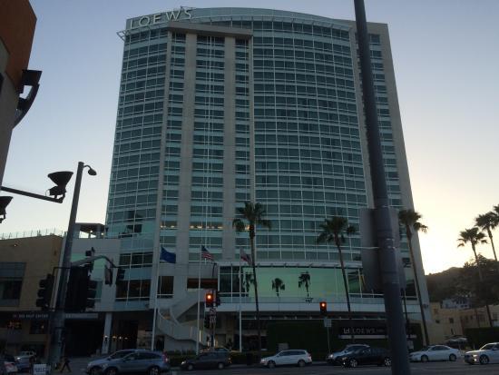 vista do apartamento picture of loews hollywood hotel. Black Bedroom Furniture Sets. Home Design Ideas