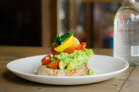 The Perc Cafe: My smashed Avo!