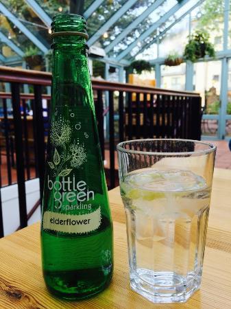Storyteller Restaurant & Wine Room : Elderflower Sparkling Water