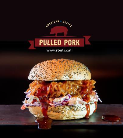 Rosti Restaurant: Pulled Pork!