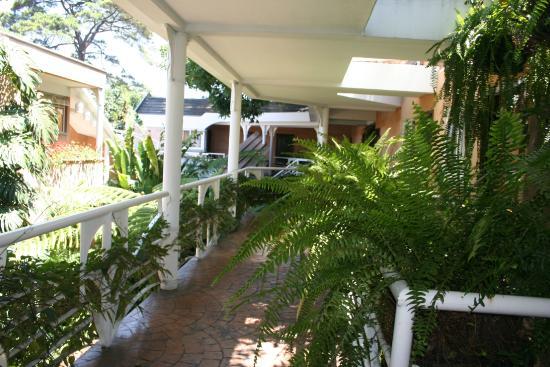 Hotel Ciudad Vieja: Pasillo de  habitaciones