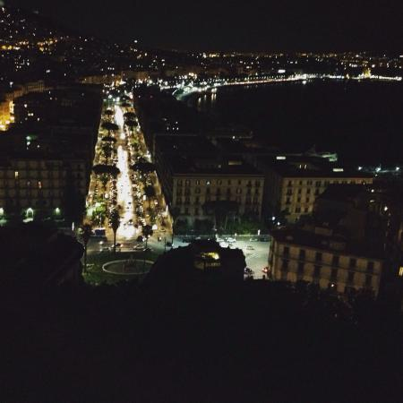Vista dalla terrazza panoramica. - Picture of Posillipo, Naples ...