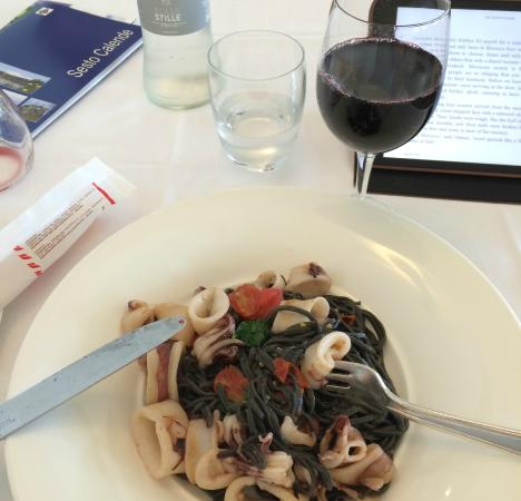 Hotel Tre Re: Some pasta!