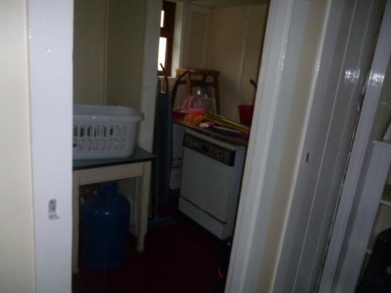 Port William, UK: utility room