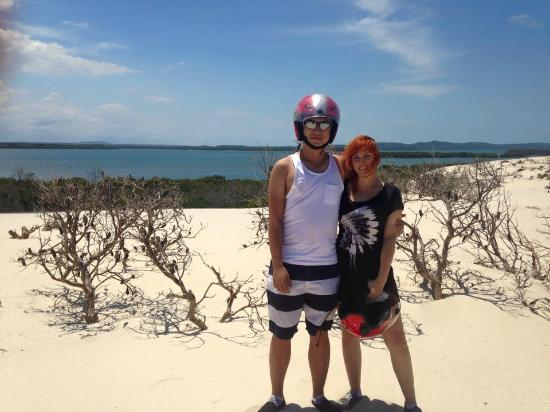 Gold Coast Island Buggy Tours: view from the lookout