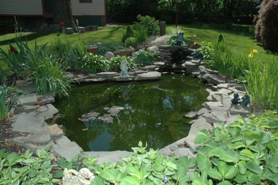 Bricktown Inn: the Koi Pond