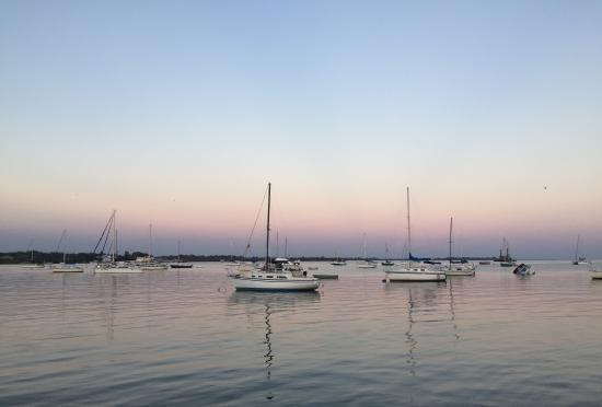 BridgeWalk a Landmark Resort: The bay from fishermans pier at dusk