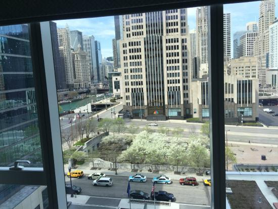 Loews Chicago Hotel Western View From 8th Floor