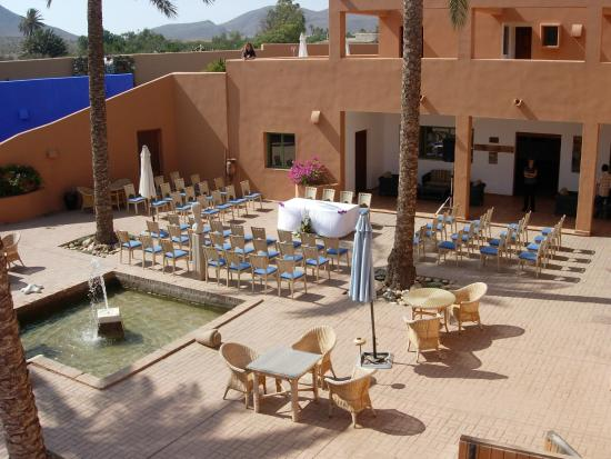 Montaje Para Boda Picture Of Hotel De Naturaleza Rodalquilar Spa Cabo De Gata Tripadvisor