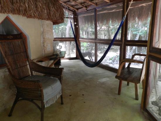 Organic Yoga Mexico: habitación