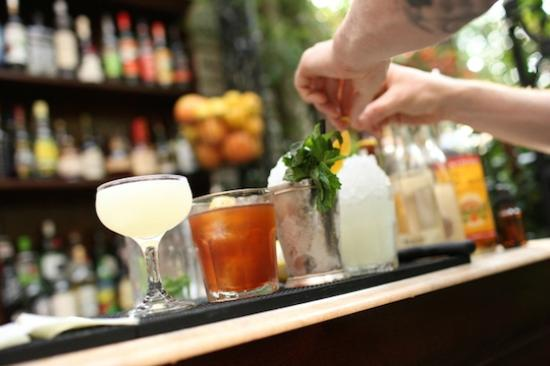 Bistro63 at Monkey Bar Grill: service bar