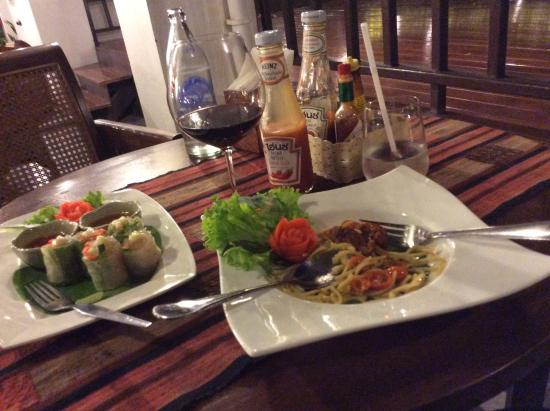 Chompor Lanna: 夕食
