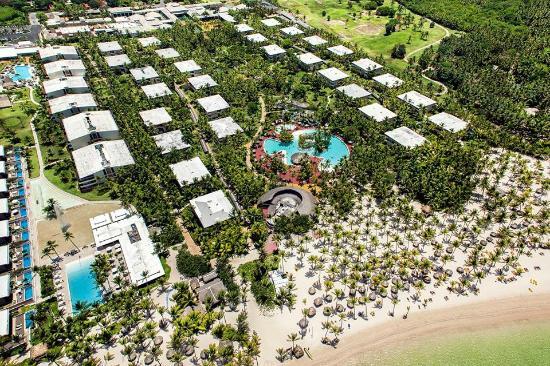 Catalonia Bavaro Beach Golf Resort Vista Aerea