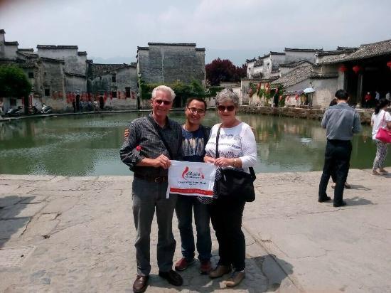China Highlights Customers in Hongcun Village