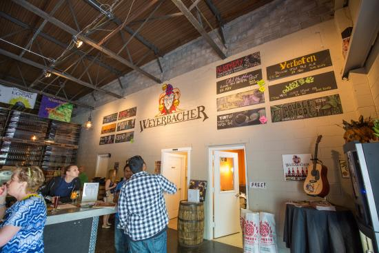 Weyerbacher Brewing Company: The selection