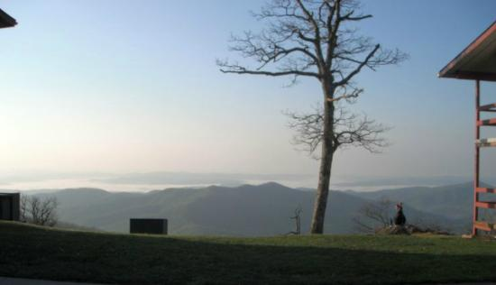 Pisgah Inn: View from the Inn