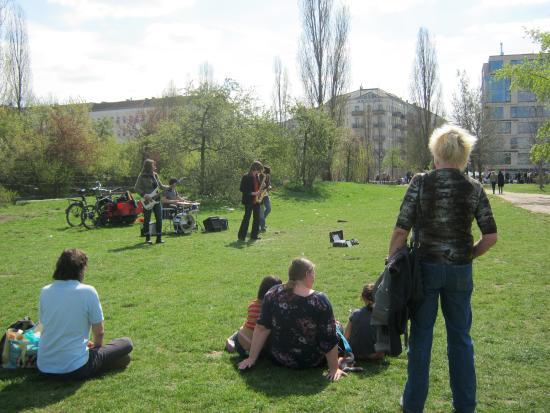 Brilliant Apartments: Mauer Park's Famous Sunday Festivities