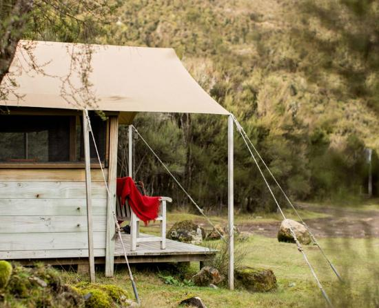 Poronui: Try luxury camping at our rustic-luxe Safari Camp
