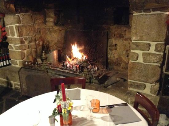 Auberge de Kerveoc'h : salle de restaurant