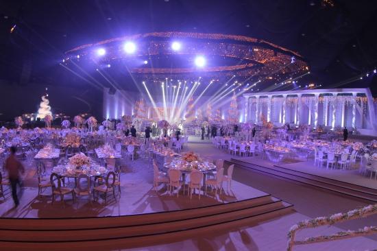 wedding picture of biel beirut international exhibition