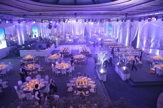 wedding picture of biel beirut international exhibition