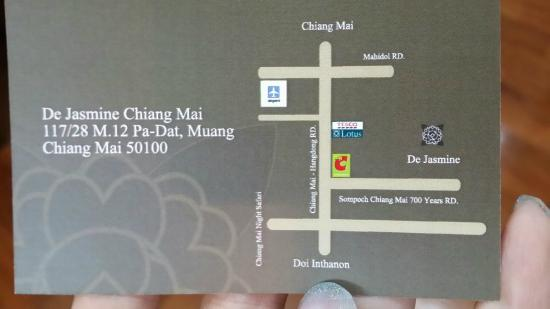 Casa Da Lua: business card