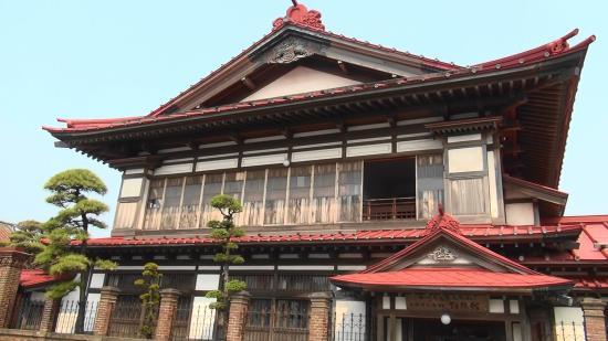 Shayokan - Osamu Dazai Memorial Hall: 「斜陽館」の外観