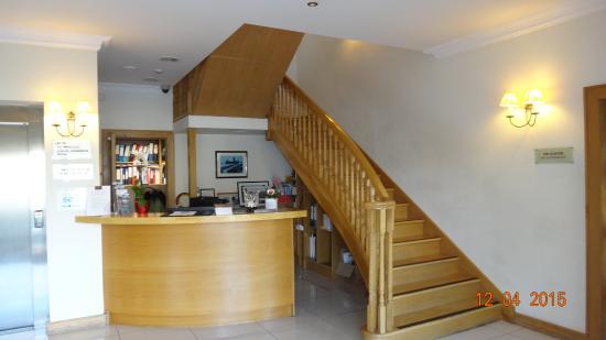 Deebert House Hotel: Reception area
