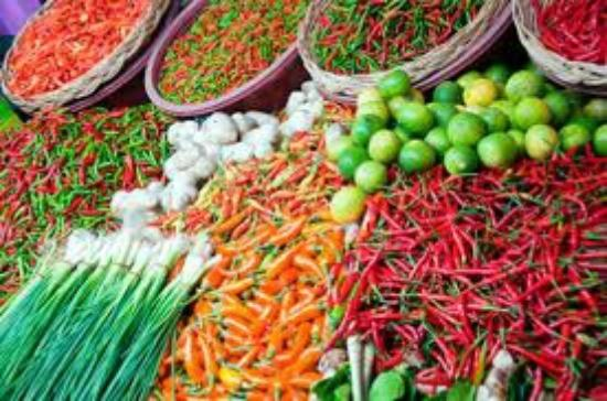 Hot Chilli Bean Thai Cafe: Delicious authentic and colourful thai fresh produce