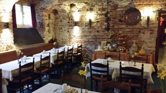 Hotel Lucca: Breakfast room