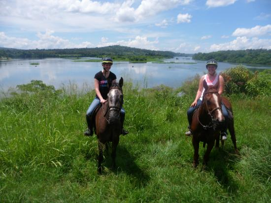 Nile Horseback Safaris - Day Tours : great opportunity to have our photo taken, and capture our own photos of the stunning view!