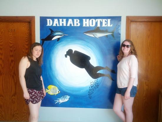 Dahab Hotel: Hotel grounds