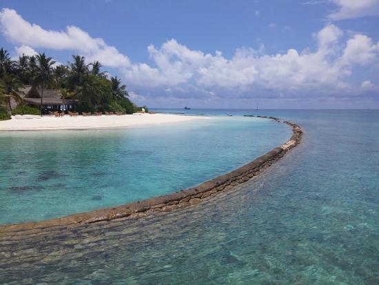 Kuramathi: Lagoon side of island