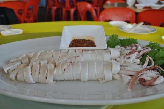 Sin Soon Lee Seafood: Boil Fresh Squid