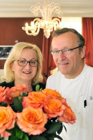 Restaurant & Hôtel Georges Wenger: Andrea & Georges Wenger