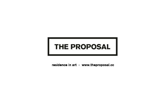 The Proposal: Residence in Art : THE PROPOSAL - RESIDENCE IN ART