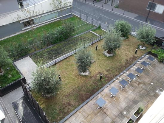 Appart'City Confort Paris Grande Bibliothèque : Vue sur cour